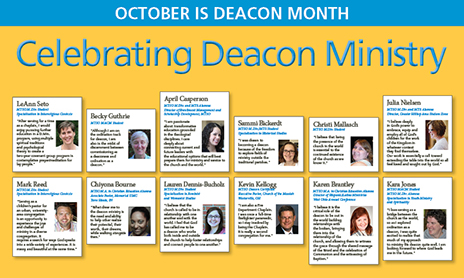 Deacon Month banner for Campus View